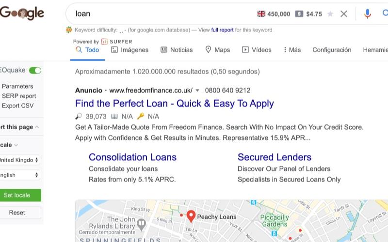 google-ad-ejemplo-texto