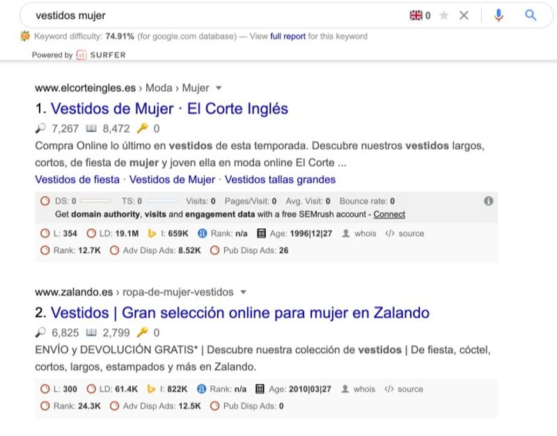 organico-SERPS-ejemplo